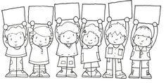 POur la rentrés...à mettre sur la porte...Binevenue les amis! (Chaque lettre a le visage (photo) D'un élève de la classe!   Écoliers