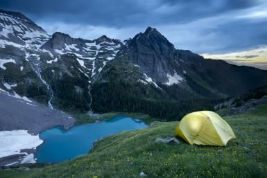 Colorado Camping 101: Surviving the Rockies for beginners: Camping at Blue Lakes in near Ouray, Colorado  ¤ Like this pin? Follow me for more @rosajoevannoy ツ
