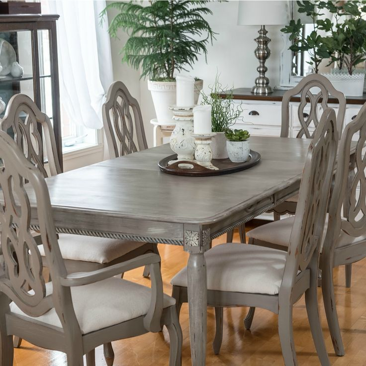 Ethan Allen Dining Room Tables Inlaid