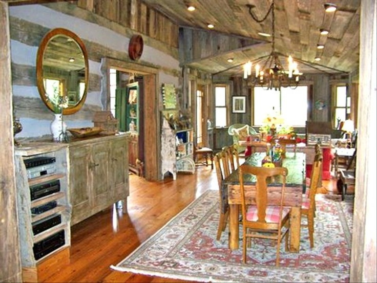 Room additions log cabins and highlands on pinterest for Log cabin additions ideas