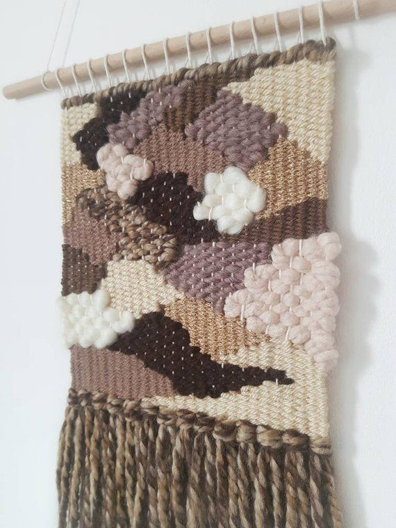 free form weaving  Woven wall hanging | Tapestry | Fibre Art | Textile Weaving ...