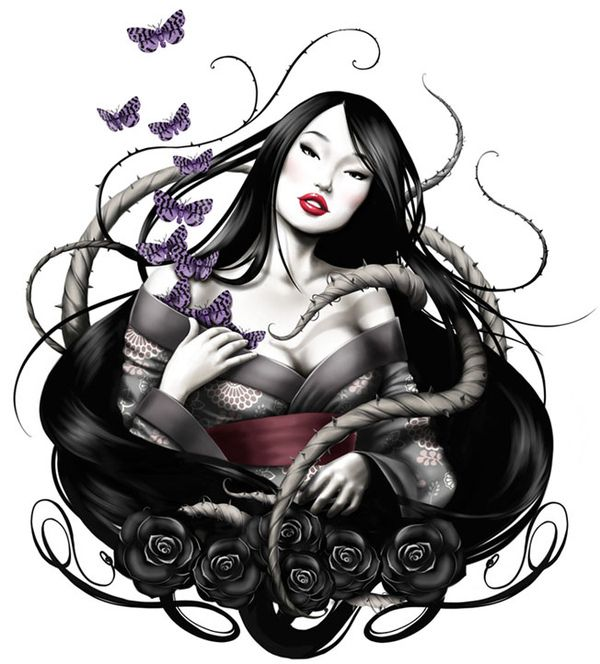 Geisha on Behance