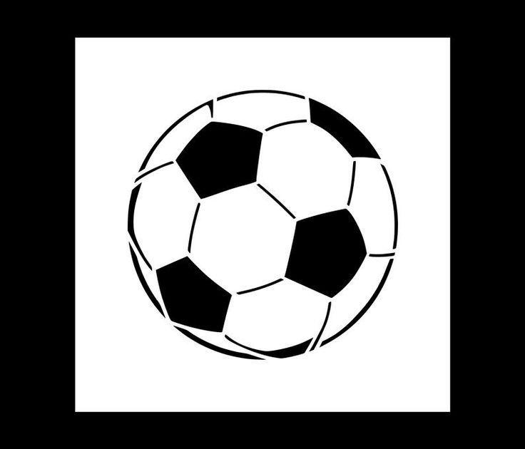 Soccer Ball In 2020 Soccer Ball Soccer Stencils