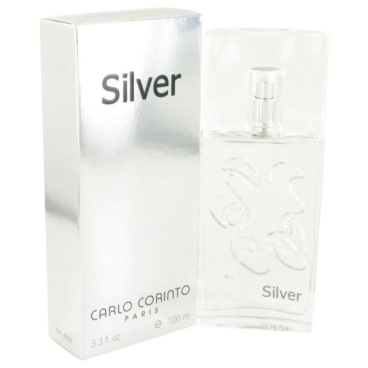Carlo Corinto Silver By Carlo Corinto Eau De Toilette Spray 3.4 Oz
