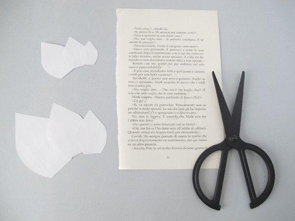 Le Frufrù: Dalie di carta con free printable, paper dahlia with free printable