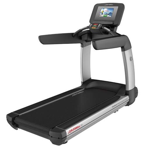 Treadmill   Check lifefitness or technogym's website!
