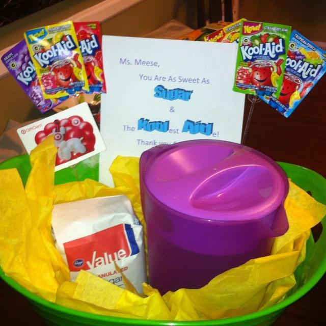 Teachers aide gift!