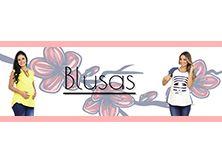 Blusas Maternas. Frescas, cómodas y a la moda. http://nuevelunas.com.co/es/13-blusas