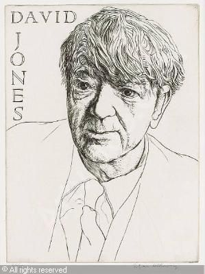 150 best david jones images on pinterest david jones portrait of david jones painter poet and prose writer by edgar holloway negle Gallery
