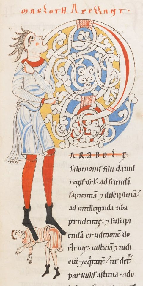 Engelberg, Stiftsbibliothek, Cod. 4: Biblia latina vulgatae versionis cum prologis· Engelberg · 1143-1178 (http://www.e-codices.unifr.ch/fr/list/one/bke/0004)