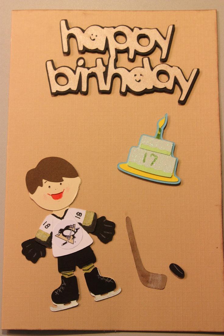 114 best Hockey Birthday images – Hockey Birthday Card