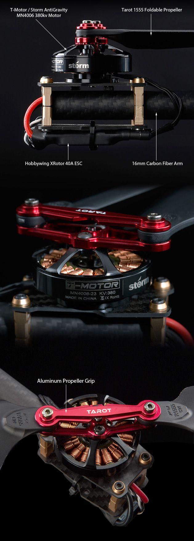 STORM Drone AntiGravity GPS Plate-forme volante (RTF / NAZA V2) - HeliPal