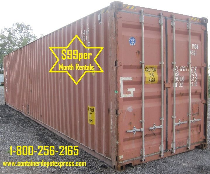 New Or Used Steel Storage Container For Rent Or Purchase All Equipments Are In Good Shape Guaranteed Mouse Proof Wind And Water Tight Currently On Sale U In 2020