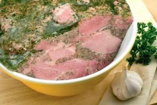 Recette : Jambon persillé de Bourgogne