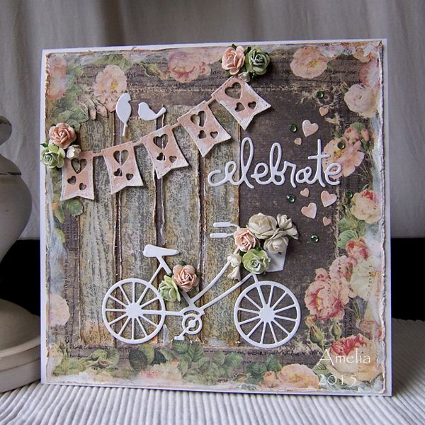 Spring card by Amelia (Stamped for the Occasion)