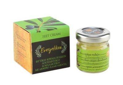 Herbal voet deodorant en verzachtende crème 40ml.