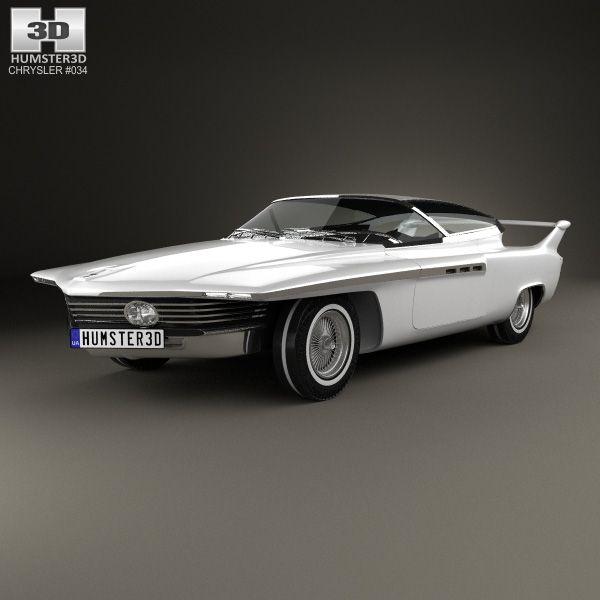 Chrysler TurboFlite 1961 3d Model From Hum3d.com