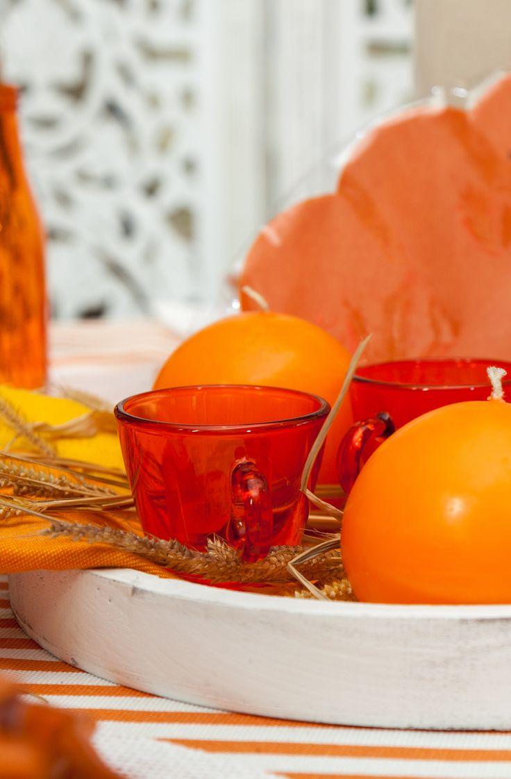 Orange Shades - Spring is here - Orange Napkins, Orange Candles, Orange Life