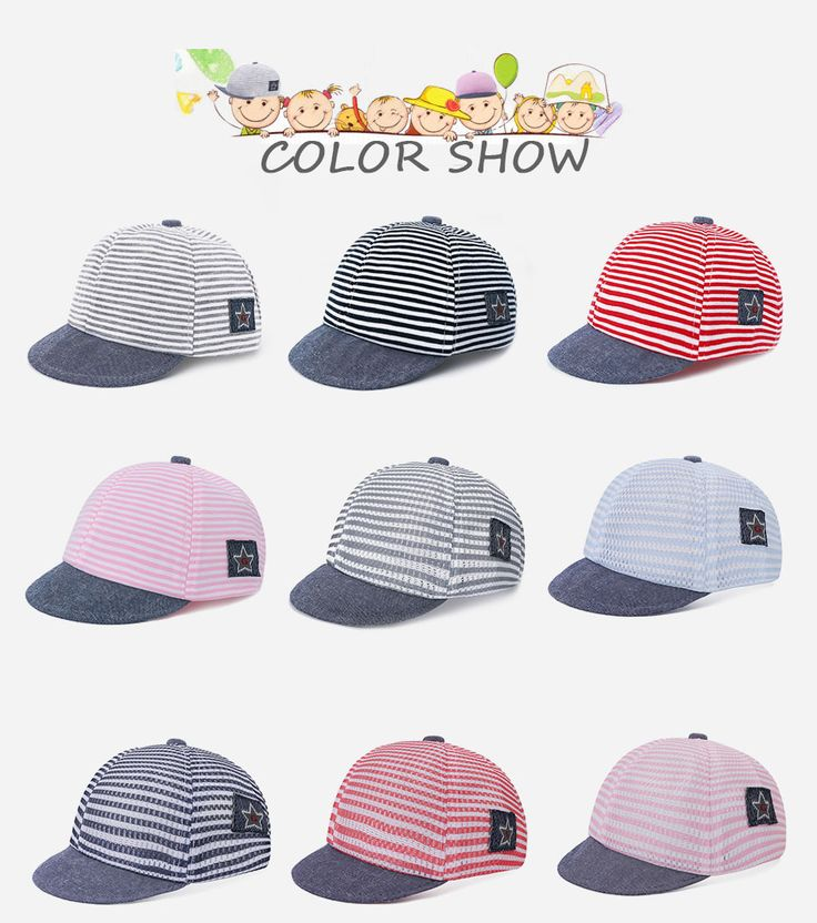 Aliexpress.com : Buy Summer Striped Mesh Hat For Children Cotton Sun Baseball Cap For Boys Hat Girls Snapback Hats Kids Casual Unisex Hip Hop Cap from Reliable hip hop hat suppliers on BoomUp Store