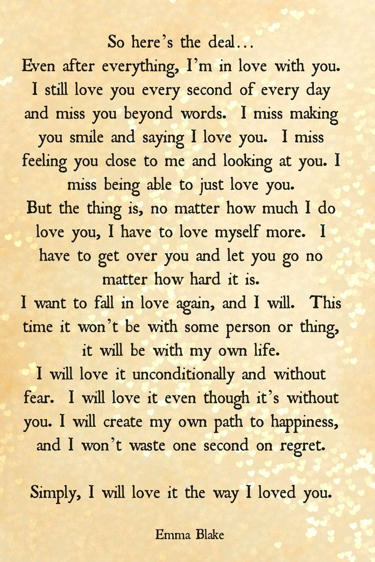 Help me write a mature goodbye/break up letter?