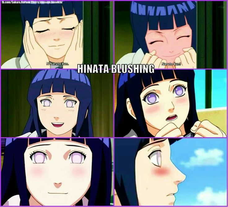 Hinata blushing moments lol From #Naruto