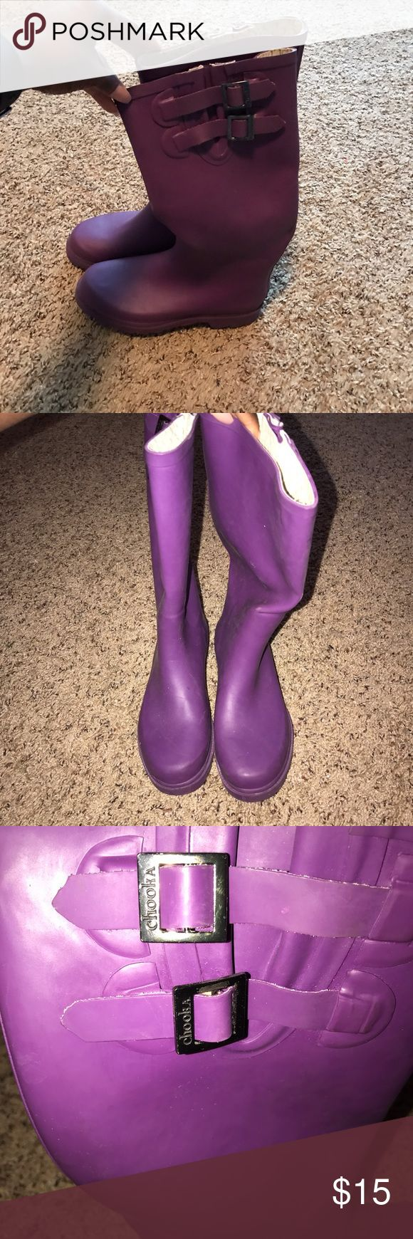 Cute rain boots Rain boots that just don't fit any more chooka Shoes Winter & Rain Boots