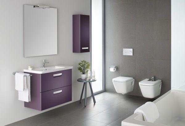 Funkcjonalny design w łazience - umywalki, miski wc, pisuary - :Roca: - lazienkowy.pl