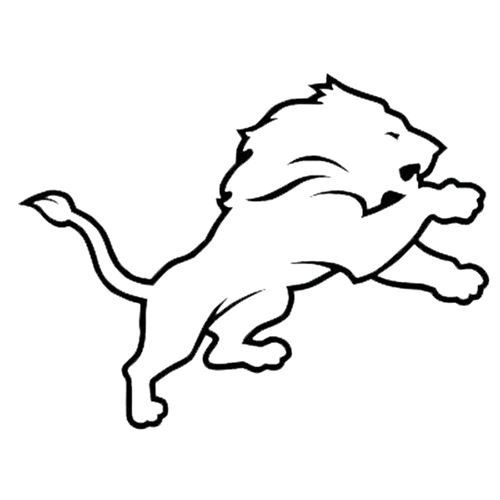 Detroit Lions NFL Die Cut Vinyl Decal PV614