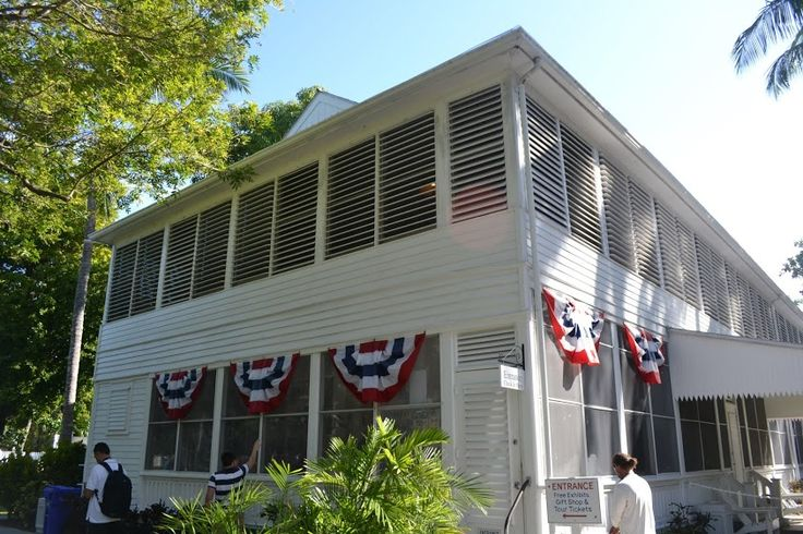 Live free or die: Key West, Part 2: Маленький Белый Дом Трумана и Дом Хемингуэя