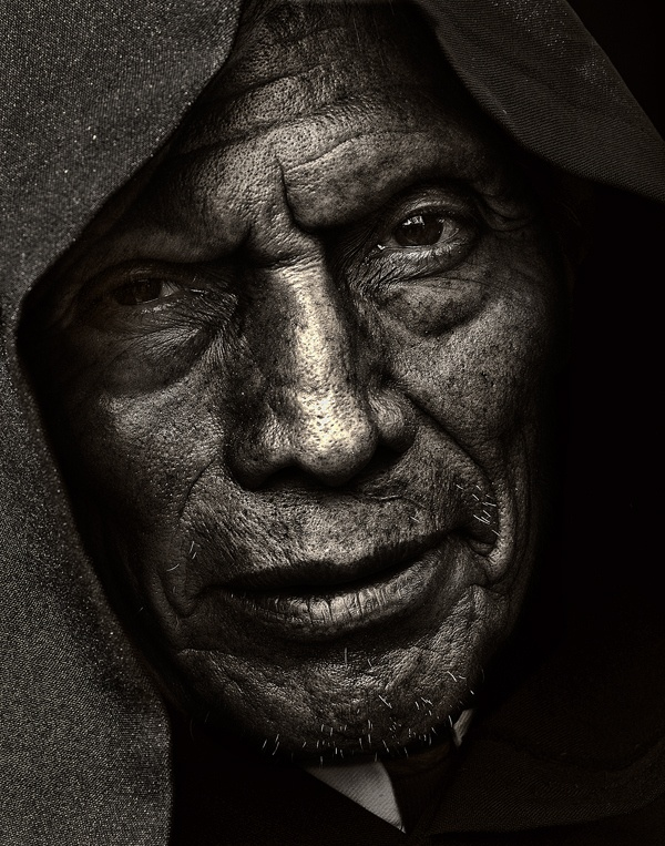 Faces, male, portrait, man, (homeless?),lines of life, intense, emotional, expression, aged, wrinckles, beard, strong, powerful, photograph, photo b/w.