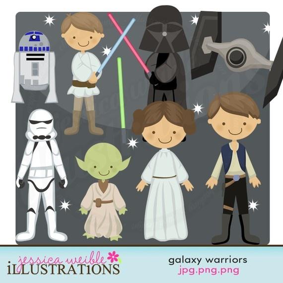 Gotta have cute Star Wars-esque clipart!