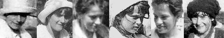 Comparison of photographs of Anna Anderson and Anastasia