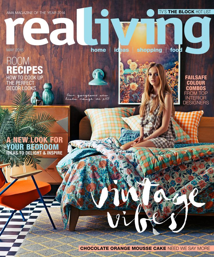 14 best Covers images on Pinterest Magazine covers Real living