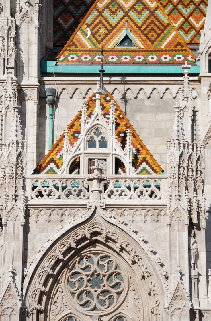 Matthias Church on Buda Hill (Budapest, Hungary)