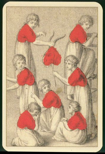 8 of hearts #playing #cards
