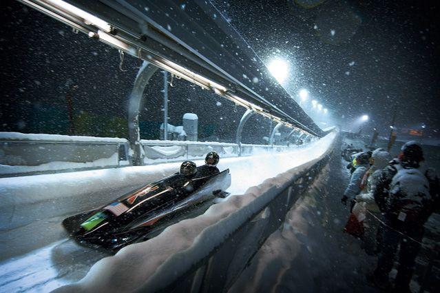John Huet: Luge in the 2006 Winter Olympics