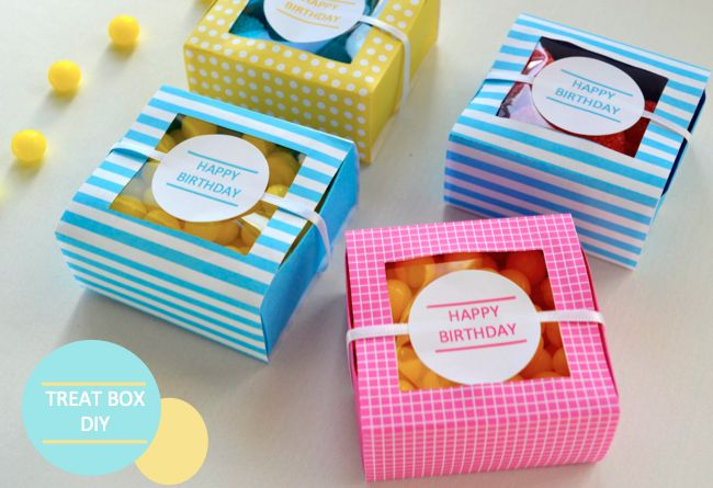 Treat Box DIY – with Free Printable | They So Loved Events | Wine Country & San Francisco Wedding & Event Planning