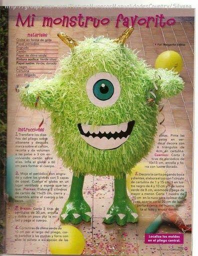 http://revistasgratisdemanualidades.blogspot.com/2014/01/como-hacer-pinatas.html