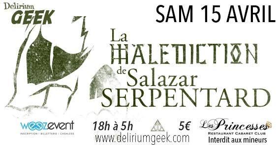 La nuit Harry Potter : La Malédiction de Salazar Serpentardhttps://www.ggalliano.fr/event/la-nuit-harry-potter-la-malediction-de-salazar-serpentard/