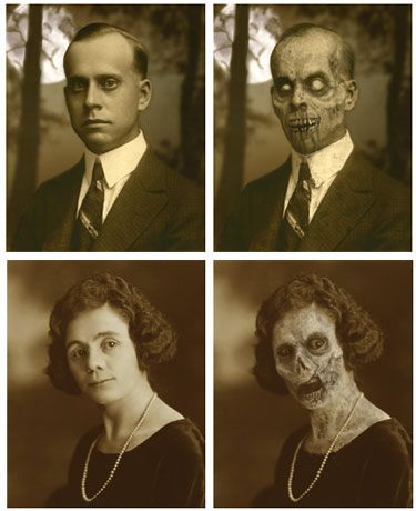 turn your photos to ghouls - these are great!