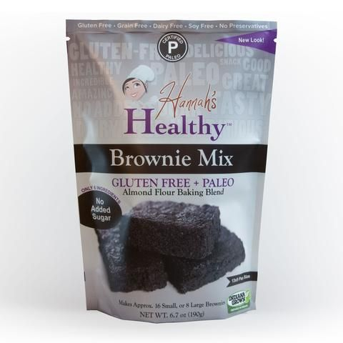 Hannah's Healthy Brownie Mix