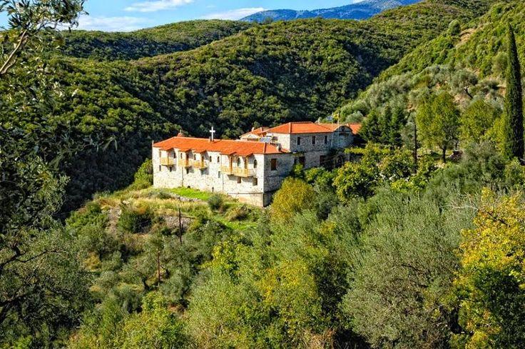 Fantastic Greece Land of faith: Overlooking #Trichonida Lake, the #Myrtia #Monastery, #Aetolia, #Greece Πάνω από τη λίμνη Τριχωνίδα, η Μονή Μυρτιάς στην Αιτωλία http://www.trihonidalake.gr/2014/04/blog-post_17.html https://www.facebook.com/photo.php?fbid=804963116215007