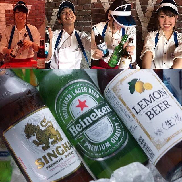 蒸し暑い‼️ビールの季節がやってまいりました〜🍻 来月中旬より、夏季限定で瓶ビールの販売を開始します💖 世界10ヶ国12種類のオススメ瓶ビールばかりです😻 ハイネケンなどの有名どころから、青リンゴ風味のビール嫌いの方でも楽しめるビールまで🙆 店内ではカワイイ売り子が闊歩しますよー笑 写真には1人暑苦しい人もいますが…笑 お楽しみに🎶 #岡山 #本町 #駅前 #ワンコイン #ワンコインピザ #coni #コニ #pizza #ピザ #ピッツァ #wine #ワイン #アヒージョ #肉 #バル #イタリアン #コスパ #女子会 #飲み会 #飲み放題 #締めピザ #二次会 #カチ割り #カチ割りワイン #ジョッキ #乾杯 #ビール #瓶ビール #wbc