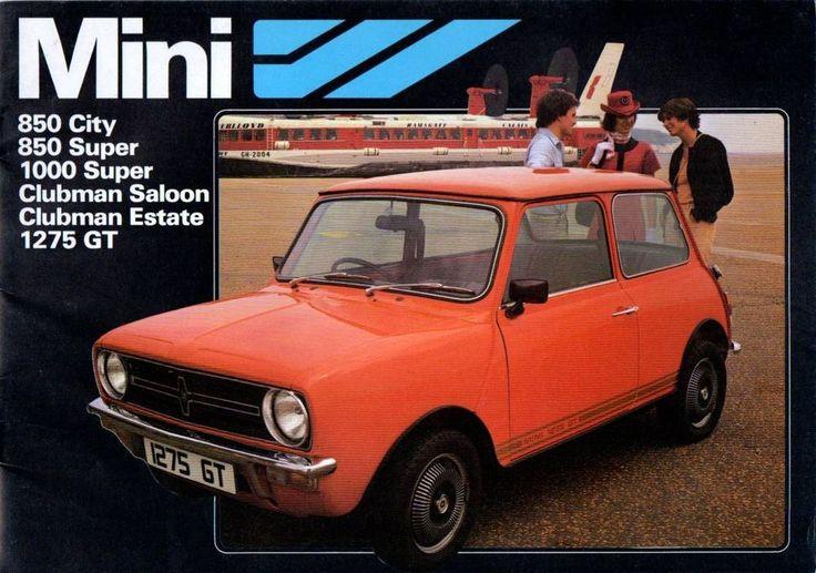 Mini Range Brochure 1978 16 Sided Brochure 1275GT 850 City Clubman & Estate (75)