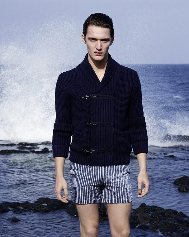 Otto Lotz Models Nautical Styles For Icon El Pau00eds | Man Style