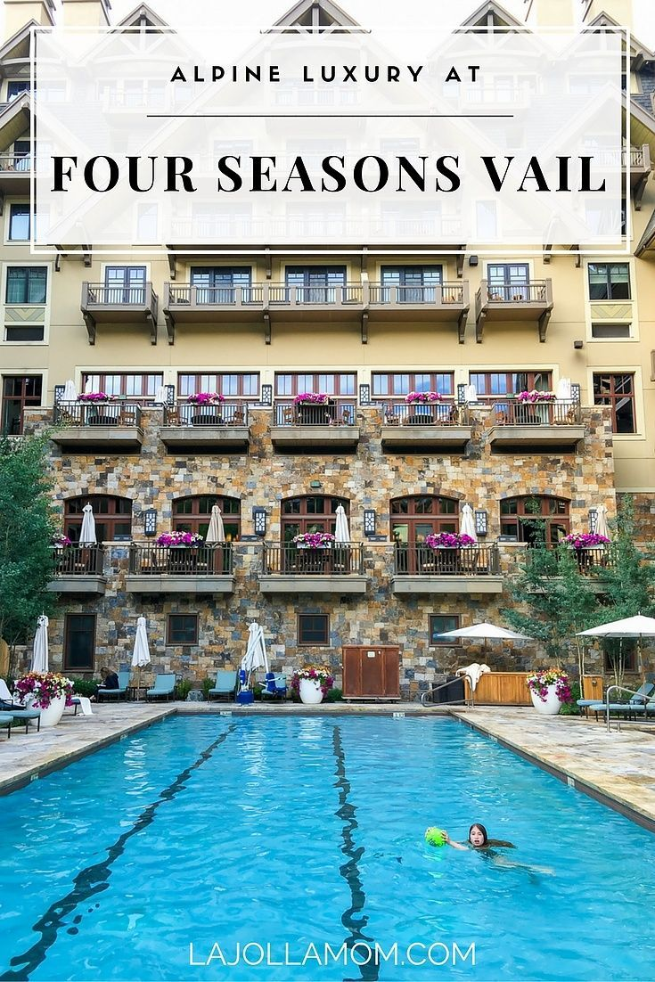 A review of our summer stay at Four Seasons Resort Vail in Colorado.