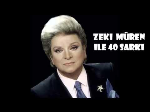 Zeki Müren ile 40 Şarkı - YouTube