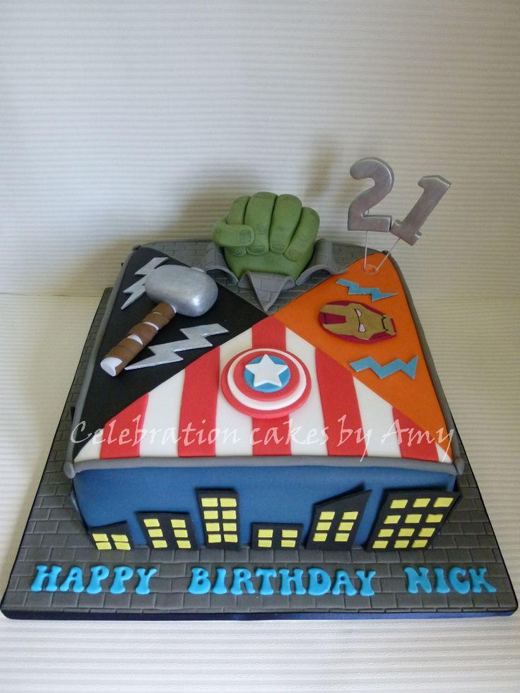 1000+ ideas about Avengers Birthday Cakes on Pinterest ...