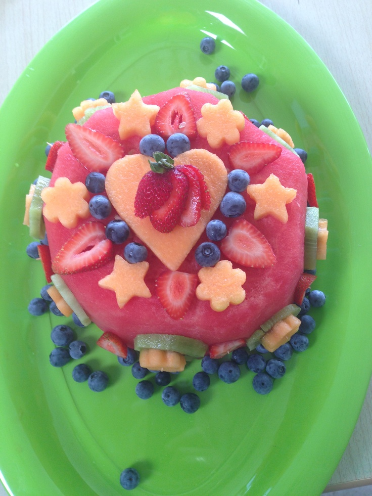 Twins birthday cake for daycare