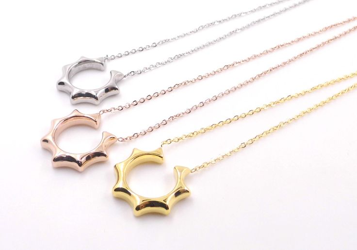 Find More Pendant Necklaces Information about Big sale 2015 South Korea lord of the sun SJS Kong Hyo spell clavicle stainless steel necklace silver couple spell necklace,High Quality necklace extender silver,China silver teething necklace Suppliers, Cheap necklace monet from JINHUI on Aliexpress.com